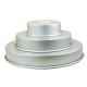 3 moules à gâteaux ronds pour wedding cake - 15,2 - 25,4 - 35,6 x 5,1cm