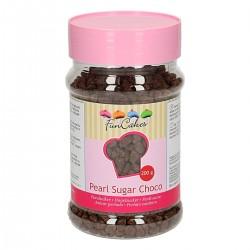 Sucre perlé au chocolat
