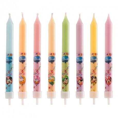 """8 bougies """"Mickey et ses amis"""""""