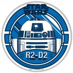 Disque de pâte à sucre Star Wars 21 cm - R2D2
