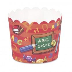 """12 caissettes à cupcakes """"Rentrée"""""""
