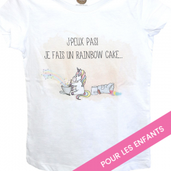 "T-shirt enfant ""Rainbow Cake"""