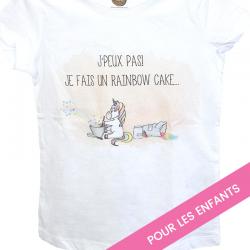 "T-shirt enfant ""Rainbow Cake"""