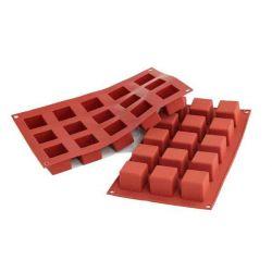 """Moule à gâteau en silicone """"15 cubes"""""""