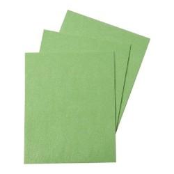 12 feuilles azyme vert - 17,8 x 14,2 cm