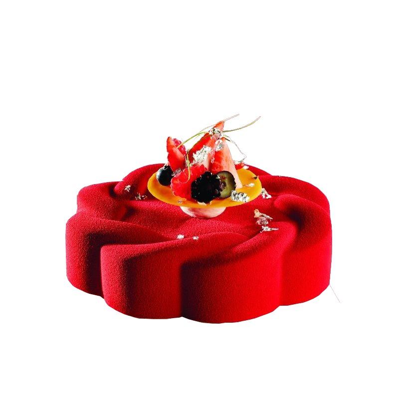 moule g teaux en silicone fleur. Black Bedroom Furniture Sets. Home Design Ideas