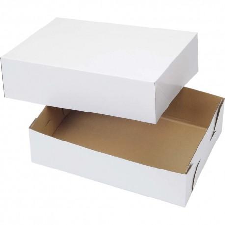 2 boîtes à gâteau 25,4 x 35,5 x 10 cm