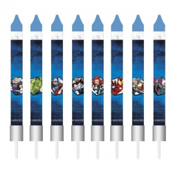 8 bougies d'anniversaire - Avengers