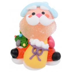 "Lot de 4 bonbons ""Père Noël"""