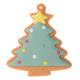 """Lot de 6 décorations comestibles - """"A Noël, j'ai froid à la tête"""""""