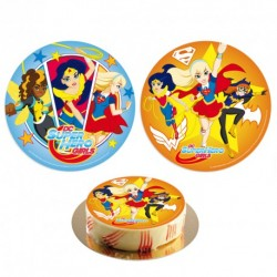 "Disque azyme ""DC Super hero girls"" - 20 cm"