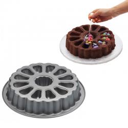 """Moules à gâteau rond """"surprise"""""""