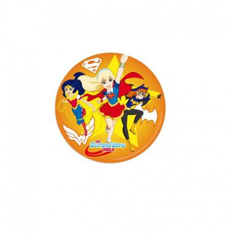 "Disque azyme ""DC Super hero girls"" - 20 cm"