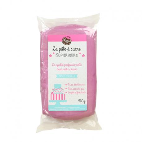 Pâte à sucre Lilas 250g