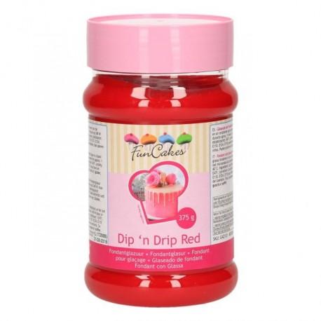 Glaçage drip cake rouge - 375 g