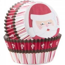 """75 caissettes standard """"Secret Santa"""""""