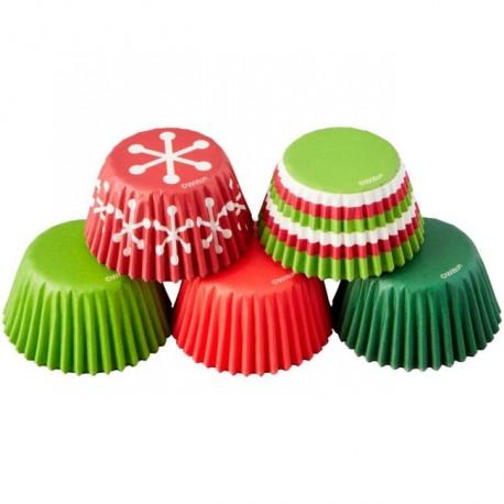 150 caissettes mini assortiment Noël