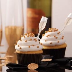 """12 pics de décoration à remplir """"Coupe de champagne"""""""