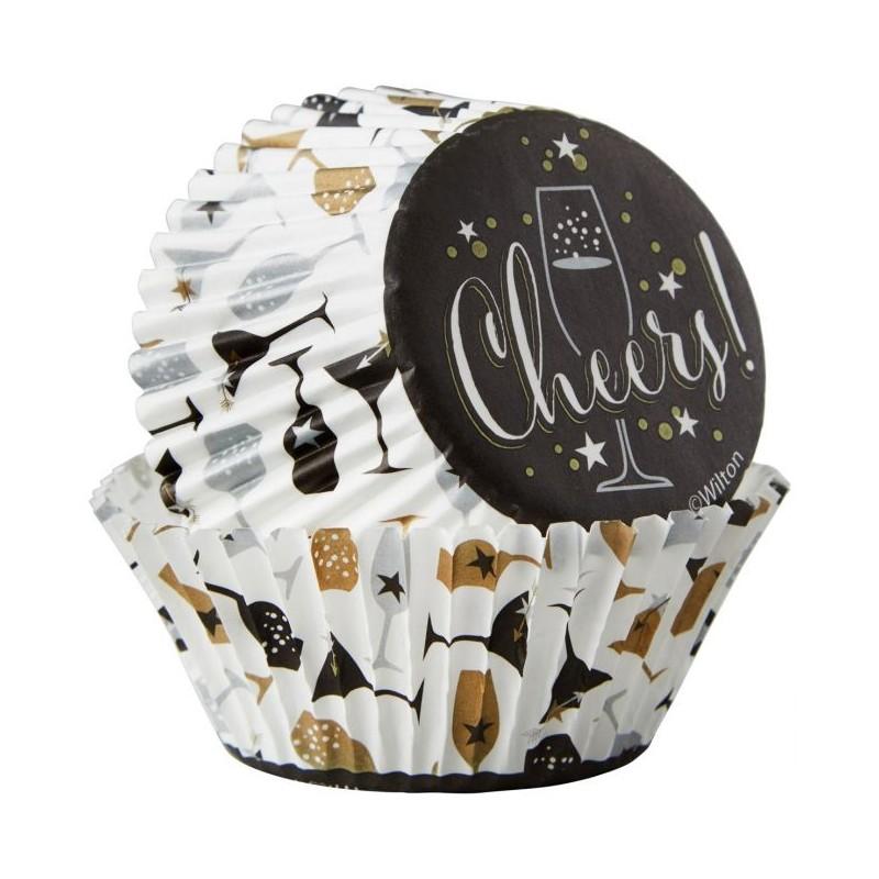 Kit de d coration pour cupcakes tchin tchin wilton - Deco pour cupcake ...