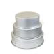 3 moules à gâteaux ronds pour wedding cake - 25,4 - 30,5 - 35,6 x 10,2 cm