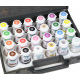 Coffret de 23 colorants alimentaires