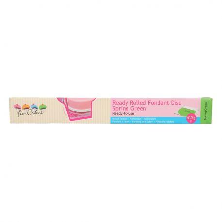 Pâte à sucre pré-étalée - Vert