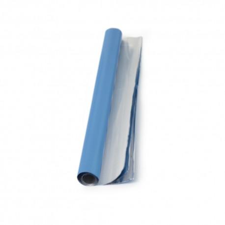 Rouleau de papier aluminium turquoise