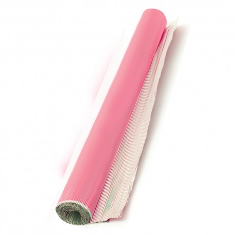 Rouleau de papier aluminium rose