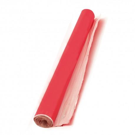 Rouleau de papier aluminium rouge