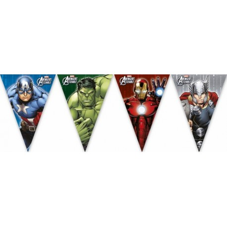 "Guirlande de fanions ""Avengers"""
