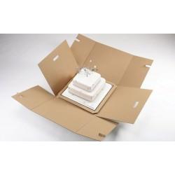 Boîte de transport pour wedding cake