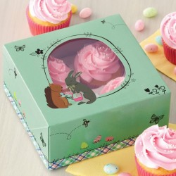 Lot de 2 boîtes à cupcakes