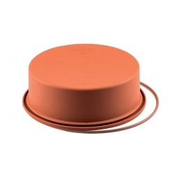 Moule à gâteau rond en silicone - 18 cm