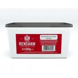 Pâte à modeler blanche - 2 x 500 g