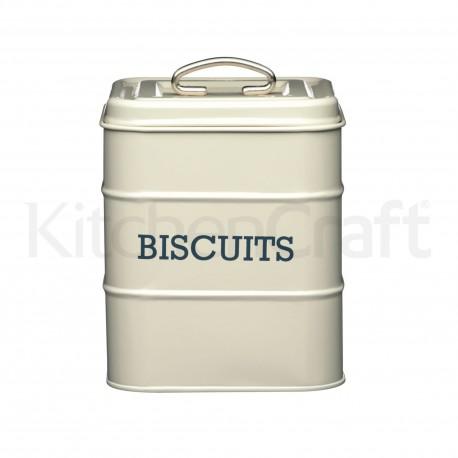 Boîte à biscuits en métal