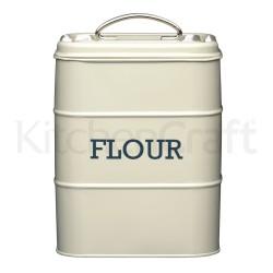 Boîte à farine en métal - Différentes couleurs