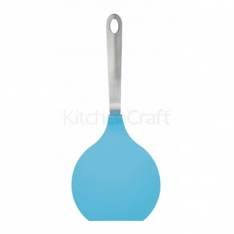Spatule coudée en silicone pour crêpes 38 cm - Différentes couleurs