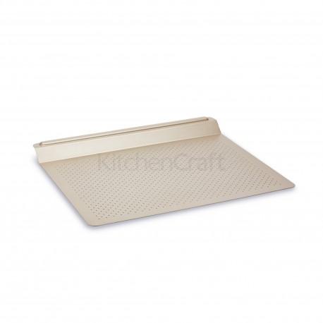 Plaque de cuisson anti-adhésive perforée - 43 x 33 cm