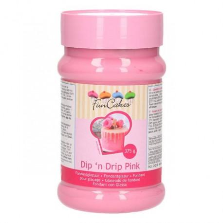 Glaçage drip cake rose - 375 g