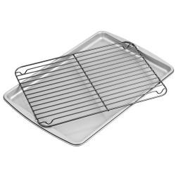 Plaque et grille de cuisson