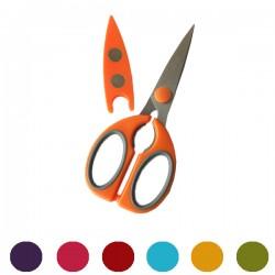 Paire de ciseaux avec étui - Différentes couleurs
