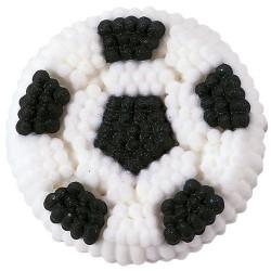 """9 décors en sucre """"ballon de foot"""""""