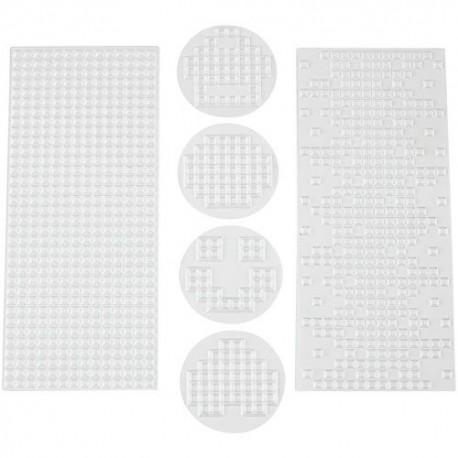 "Lot de 6 feuilles de texture ""Pixel"""