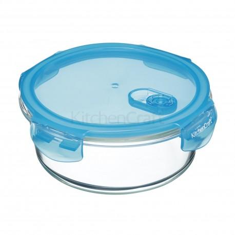 Boîte de conservation ronde en verre - Différentes tailles