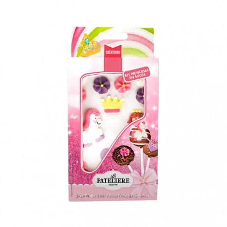 Décorations Princesses en sucre