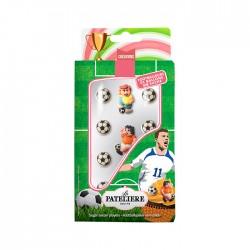 Décorations Footballeurs en sucre