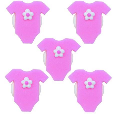 """5 décors en sucre - """"Bodys roses"""""""
