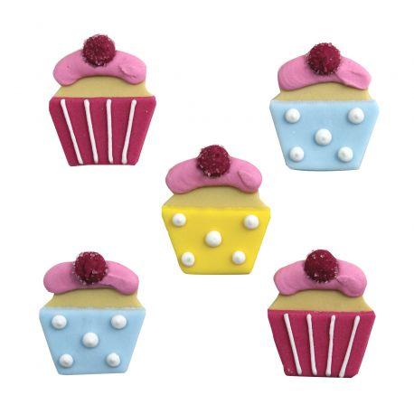 """5 décors en sucre - """"Cupcakes sucrés"""""""