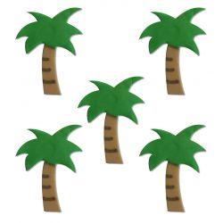 """5 décors en sucre - """"Palmiers"""""""