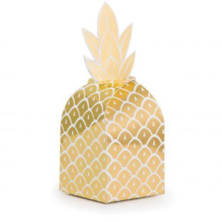 """8 boîtes à confiseries - """"Ananas"""""""